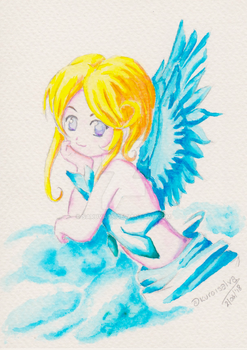 Watercolor-noblescarlet-20180602 by Saruva05