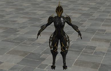'Warframe' Ember Prime XPS ONLY!!! by lezisell