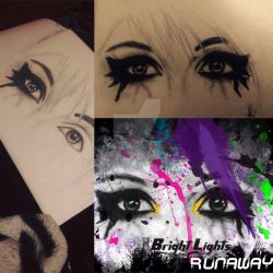 Bright Lights Eyes (Runaway) by OxBloodrayne1989xO