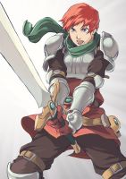 Adol The Red by spoonbard