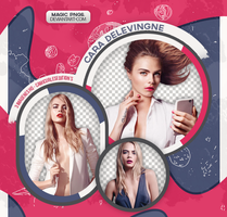 PACK PNG 572| CARA DELEVINGNE by MAGIC-PNGS