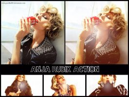 ANJA RUBIK ACTION by perelka880