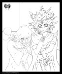 A Day Of Being Pharaoh Lineart by l3xxybaby
