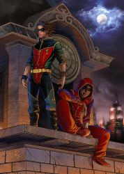Flash and robin by clefchan