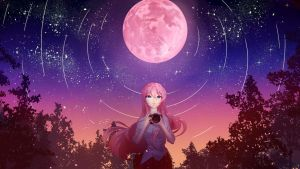 Strawberry Moon by My-Magic-Dream