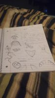 Notebook Drawing out of boredom 11 by dragon808tr