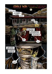 CANDLE MAN Page 1 Letters by KurtBelcher1