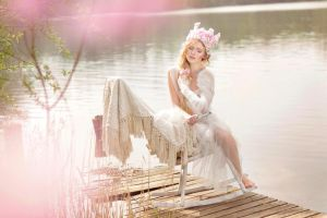 a girl's late summer dreaming by Violetessa