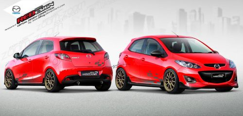 Mazda2 REDesign Contestant #1 by idhuy
