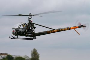 Hiller UH-12C by Daniel-Wales-Images