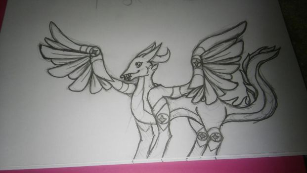A new type of dragon W.I.P (ver. 2.0) read desc. by RNK50