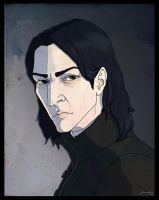 My version of Severus Snape by searoth