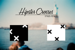 Hipster Crosses by ponysalvaje1730