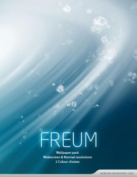 Freum -Wallpaper pack. by Uribaani