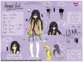 -CP/Horror OC- Hanged Girl/Iris REF 2018 by NaughtyKittyDV-1992