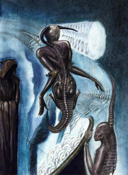 H.R. Giger The Magus '75 by djinn666