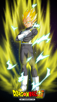 vegeta ssj dragon ball super by naironkr