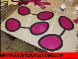 Vinyl Scratch PON3 Goggles for Fursuit by AtalontheDeer