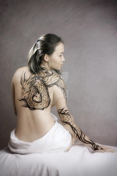 irena the dragon by ikie