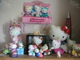 Hello Kitty shelf by JCproductions