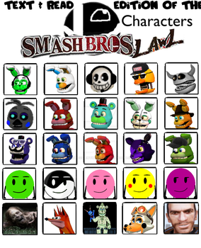 SSBL character select (my version) by andrevalentimcuncev
