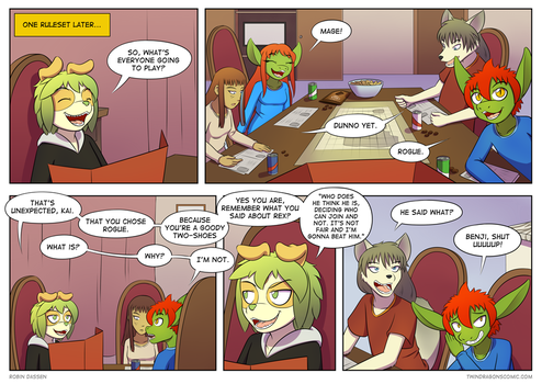 Twin Dragons page 126: Goody Two-shoes by TheNekoboi