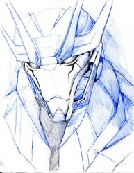 Soundwave's face by winddragon24