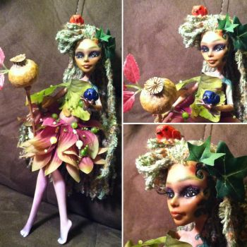 Lilymist Sparrowsong: Monster High Custom by TerribleToadQueen