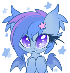 Little bat, reporting for hugs! by StarlightLore