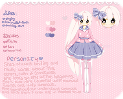 G: reference sheet for Choli-chii by Miyee