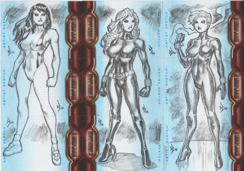 Ironman 2 Sketchcards.05 by RyanKinnaird