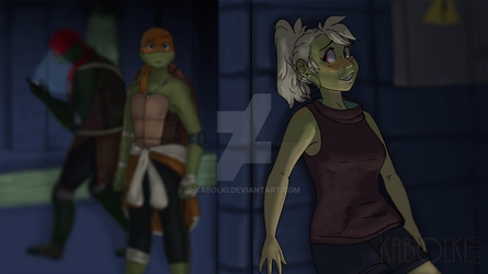 :TMNT: My my, how can I resist you? by Kabolki
