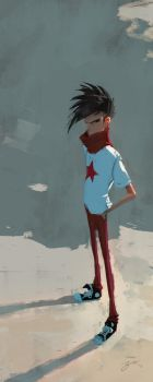Red Star by GorosArt