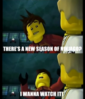 When a new season of Ninjago is announced... by Showlover