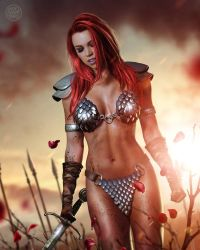 Red Sonja by superheroesfunny