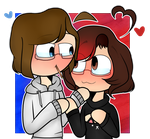 [REMAKE/GIFT] ~Two Gay Bois by LimeyCrystal