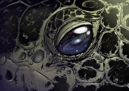 Ancient Eyes - A'Tuin by AbigailRyder