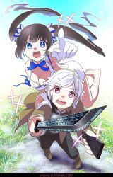 Hestia and Bell and the Hestia Blade by skimlines