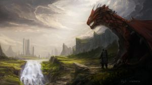 Dragons Land by HazPainting