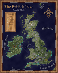 Post-Apocalyptic British Isles (Political Map) by Will-Erwin