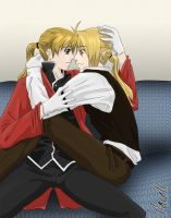 FMA: Elricest - Because of you by cacell