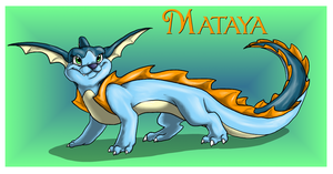 The Red Barn: Mataya the Vameleon Ref by Cattensu