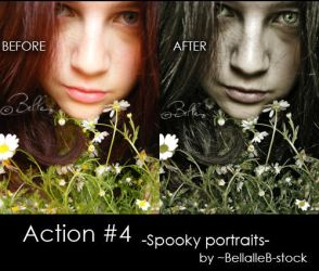 Action no.4-spooky portraits by bellalleb-stock