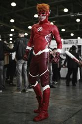Flash cosplay by GraysonFin
