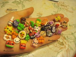 New Polymer Clay Charms by rainbowsmile97