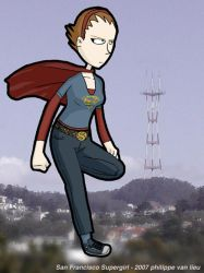 San Francisco Supergirl by nick15