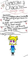 Generate A Character Through Song by DreamNotePrincess