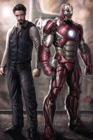 I am Iron Man by JPKegle