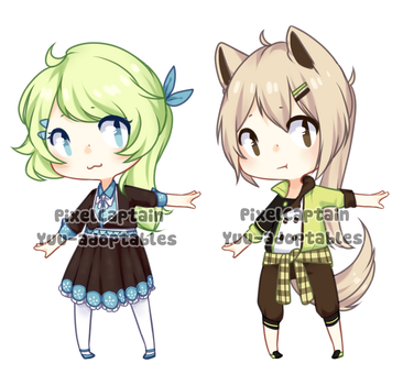 CLOSED Collab Adopts with PixelCaptain by Yuu-adoptables