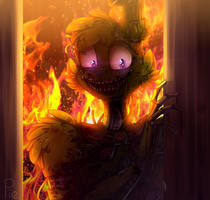 :You Will Burn With Me: (+ SpeedPaint) by SoundwavePie